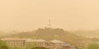 Песчаная буря в Дунхуане